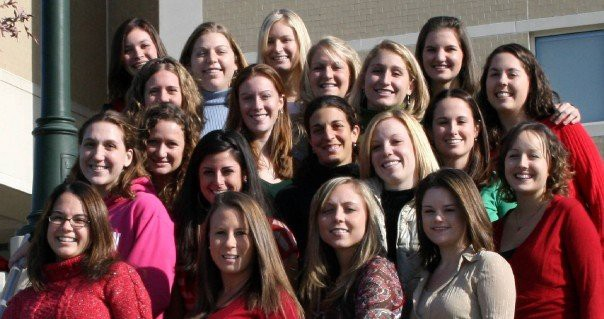 Sarah's Occupational Therapy class of 2008 at James Madison University